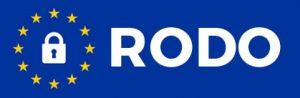 gwiazdki unii europejskiej oraz napis RODO